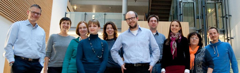 Das Team der Abteilung Wissenschaftskommunikation.