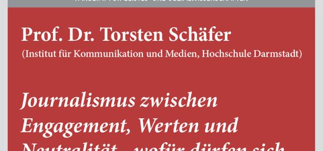 """#wmklauscht: Torsten Schäfer – """"Journalismus zwischen Engagement, Werten und Neutralität"""""""