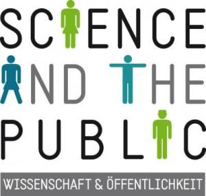 """Logo der Schwerpunktprogramms """"Wissenschaft und Öffentlichkeit"""""""