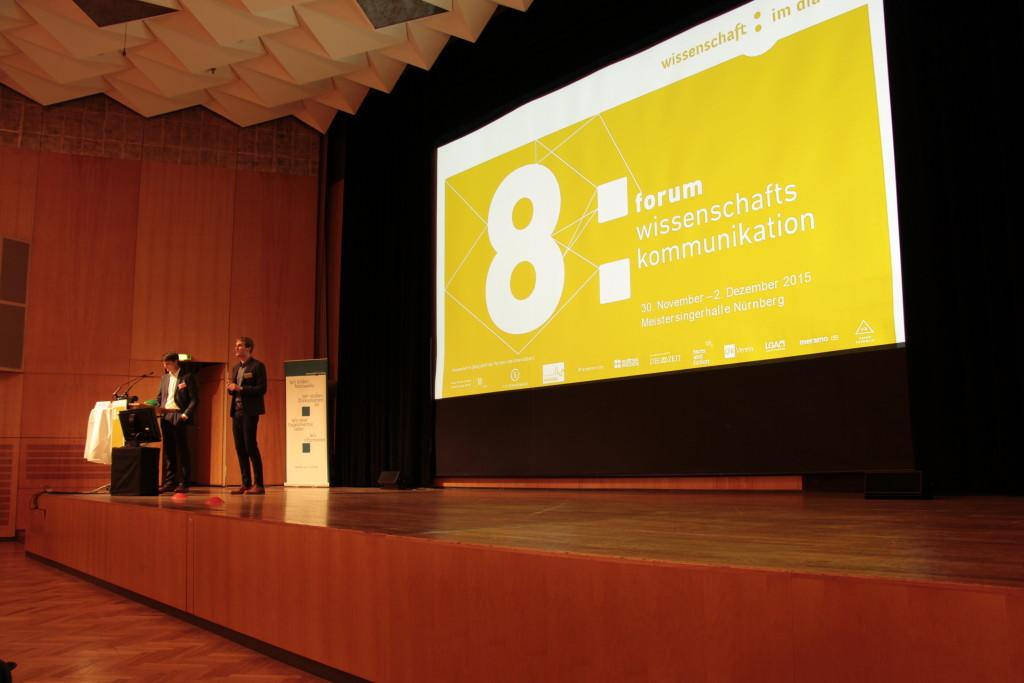 Keynote zum 8. Forum Wissenschaftskommunikation