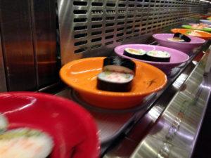 Sushi für das Wissensbuffet (Foto: cyclonebill from Copenhagen, Denmark, Sushi (8452829483), CC BY-SA 2.0)