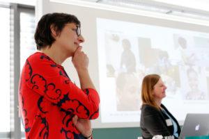 Heike Tappe und Annette Leßmöllmann