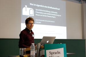 Vortrag Daniel Pfurtscheller