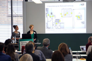 Vortrag von WMK-Studierenden