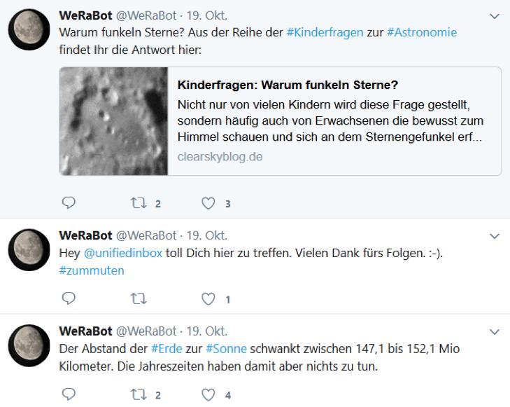 Tweet WeRaBot