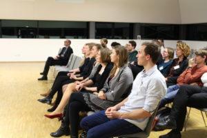 Publikum Absolventen-Verabschiedung